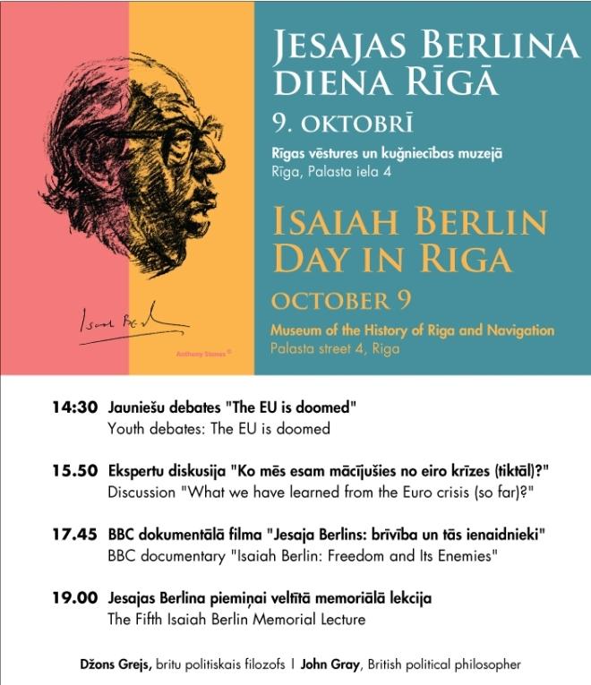 Isaiah Berlin Day 2013